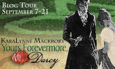 Yours Forevermore Darcy horizontal banner