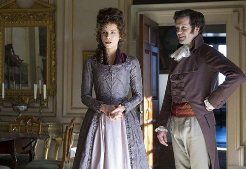 Love & Friendship Kate Beckinsale and Tom Bennett 2016 x 500