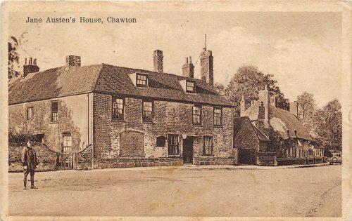 Jane Austen's House, Chawton, England circa 1930.