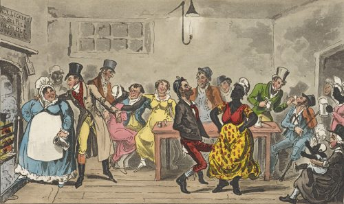 Robert and George Cruikshank Lowest Life (1823)