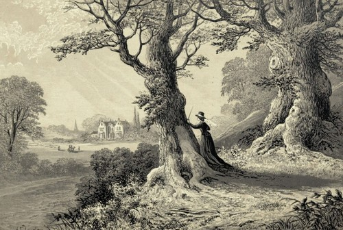 Mansfield Park illustration from Groombridge 1875 edition