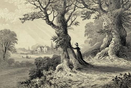 Mansfield Park illustration from Groombridge 1875 edition