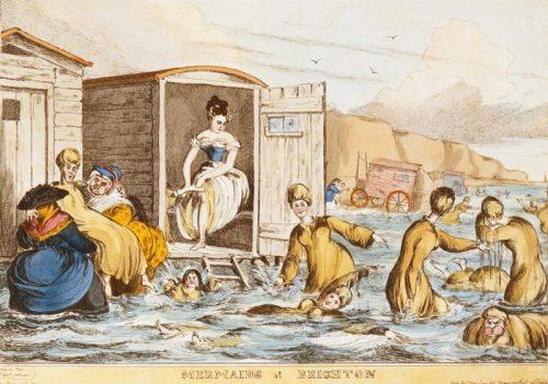 Mermaids at Brighton, by William Heath (c. 1829)