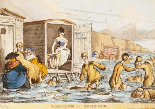 Mermaids at Brighton, by William Heath (c. 1829)