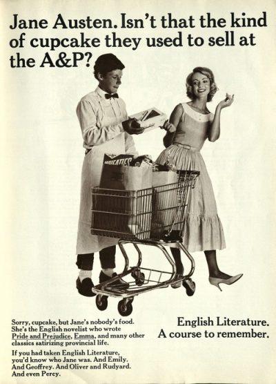 National Lampoon Jane Austen poster 1971