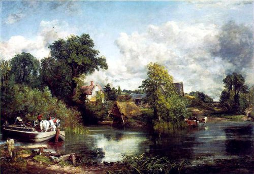 The White Horse by John Constable (1819)