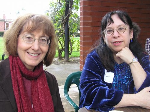 Janet Todd and Diana Birchall ca 1999