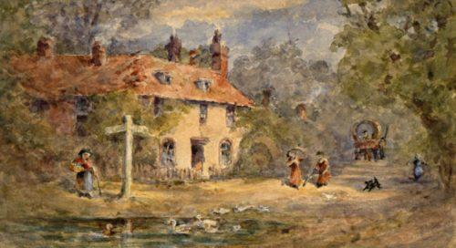Chawton Cottage, Hampshire