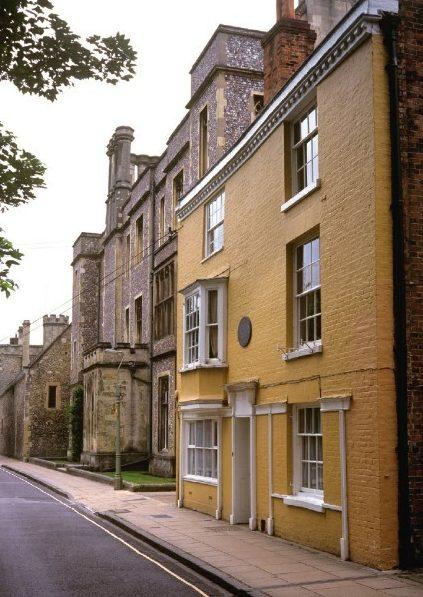 Jane Austen final home in Winchester, Hampshire