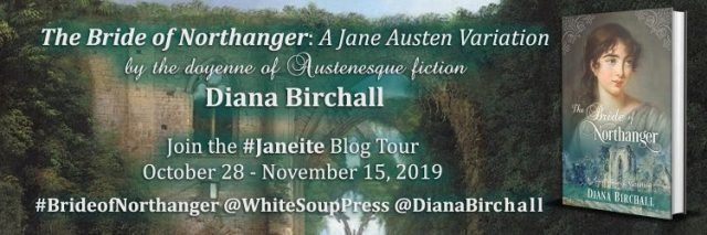 The Bride of Northanger Blog Tour Banner Fina