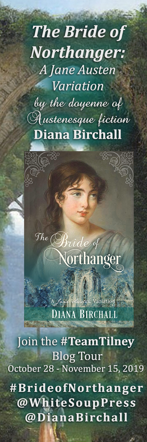 The Bride of Northanger Blog Tour sidebar