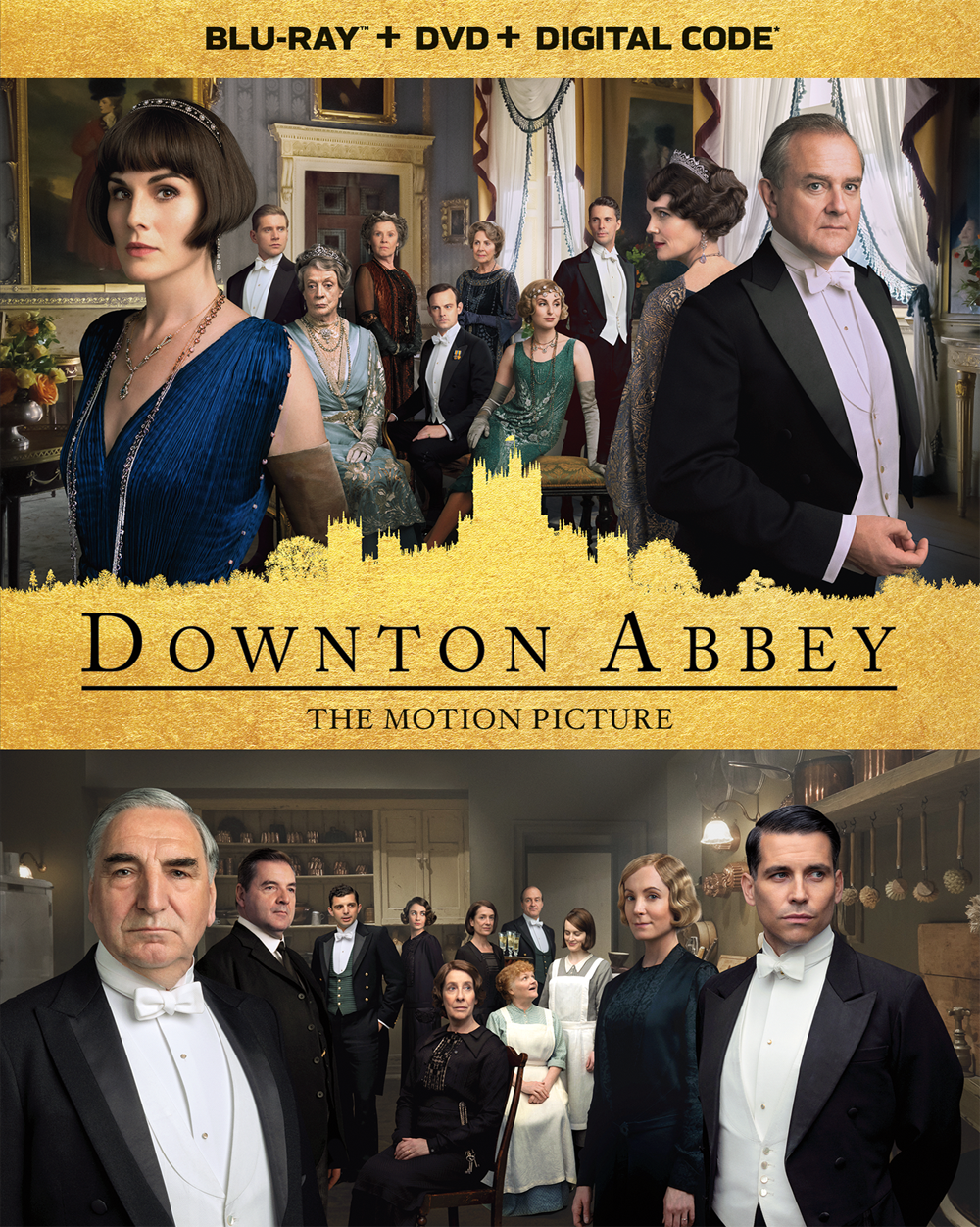 Downton Abbey Movie Blu-Ray + DVD + Digital Code Cover (2019)