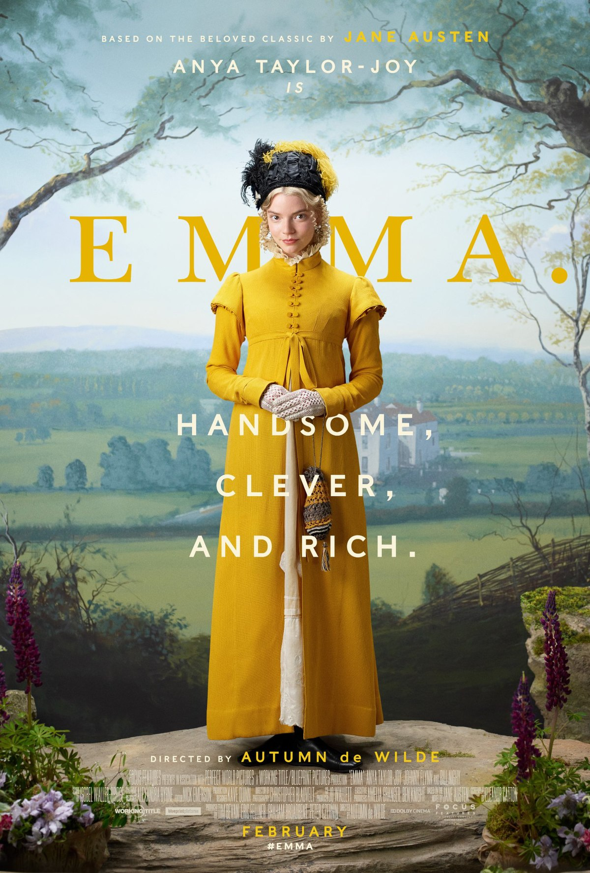 Emma 2020 movie poster