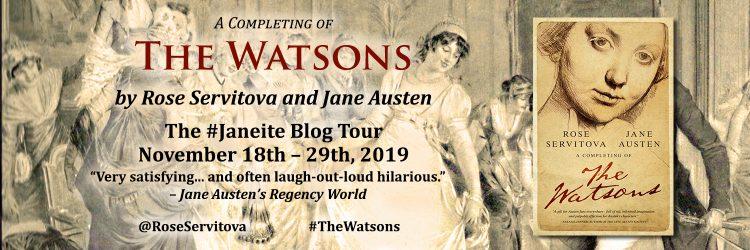 The Watsons Blog Tour Banner