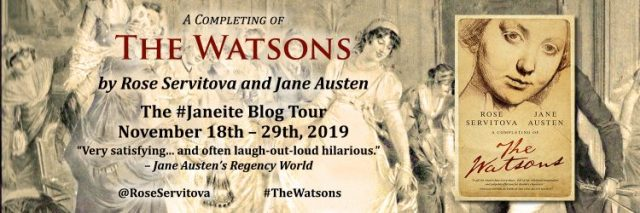 The Watsons Blog Tour Banner