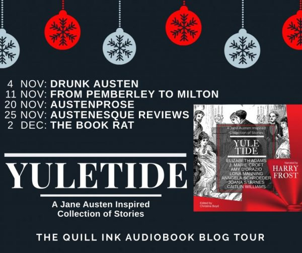Yuletide audiobook tour banner