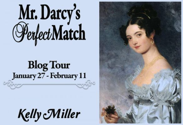 Mr. Darcy's Perfect Match Blog Tour Banner