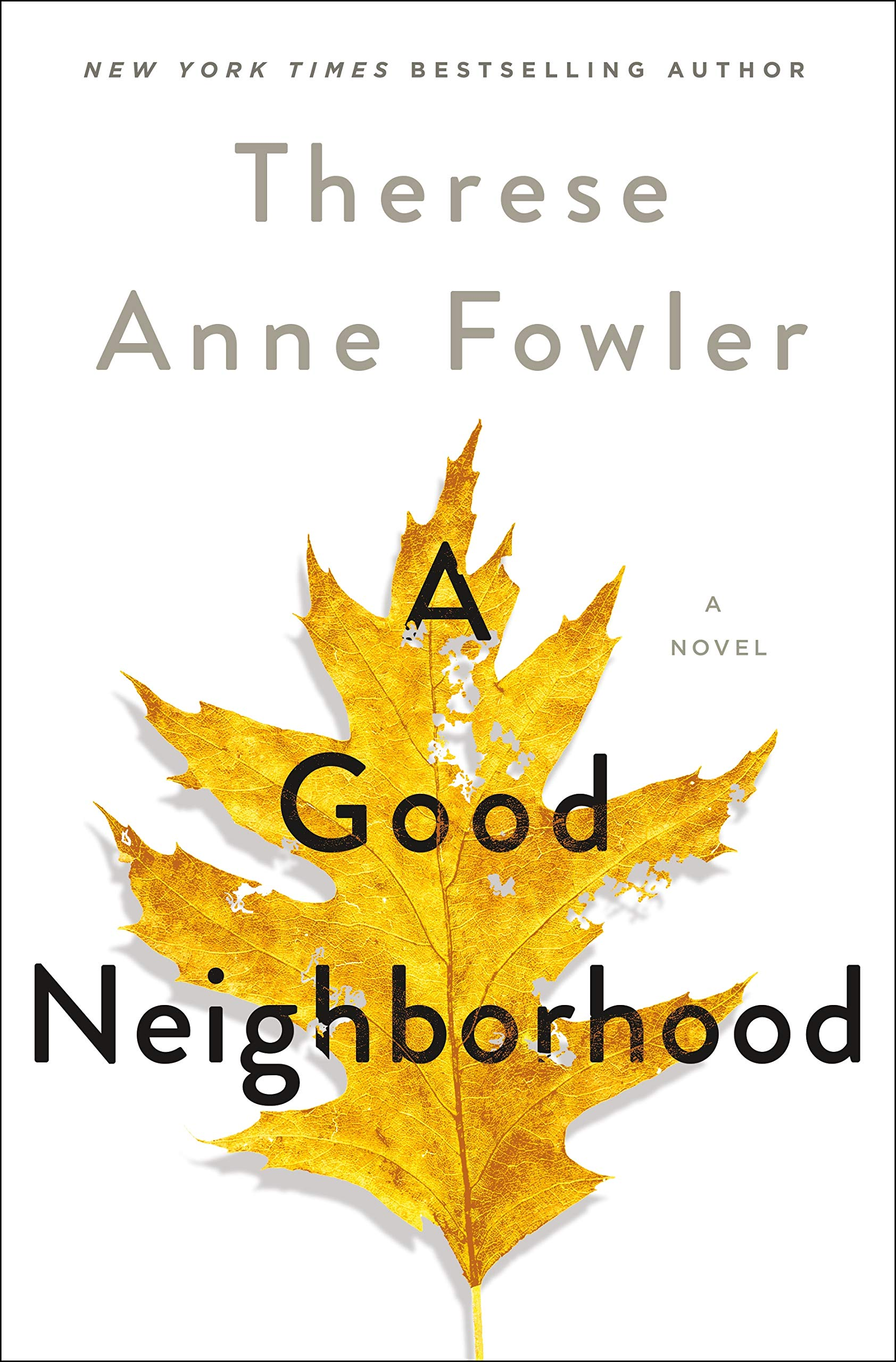 A Good Neighborhood, by Therese Anne Fowler (2020)