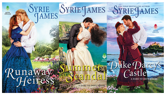 The Dare to Defy series by Syrie James
