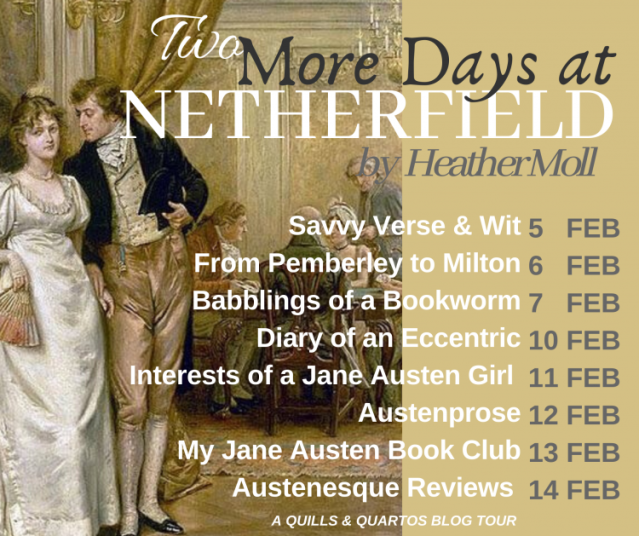 Two More Days at Netherfield Blog Tour graphic