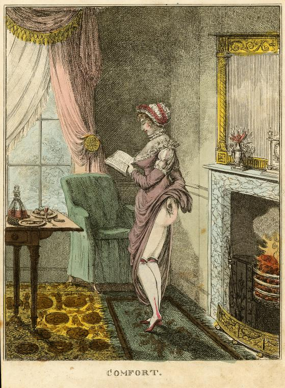 Comfort (1796) colored etching from the nypl.digitalcollections