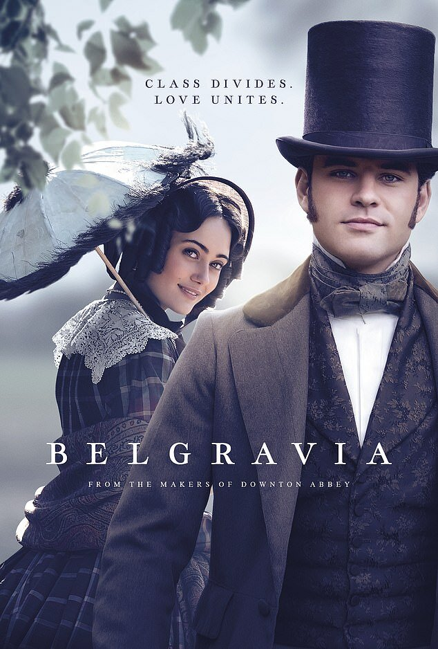 Julian Fellowes' Belgravia TV series poster