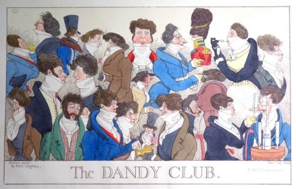 The Dandy Club c1818