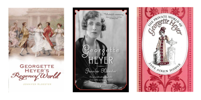 Georgette Heyer nonfiction books