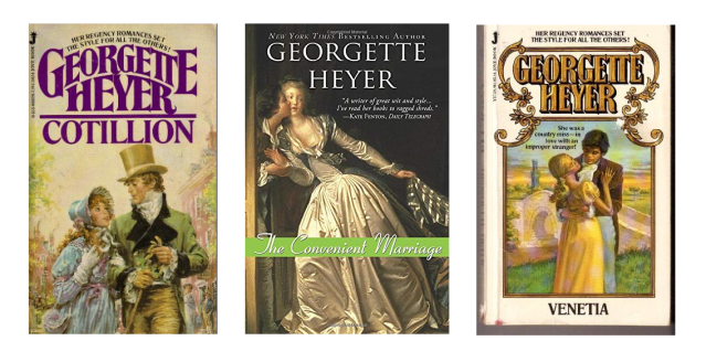 Georgette Heyer Banner