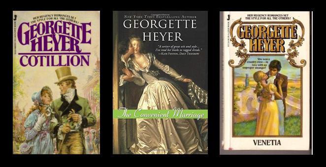 Georgette Heyer Banner