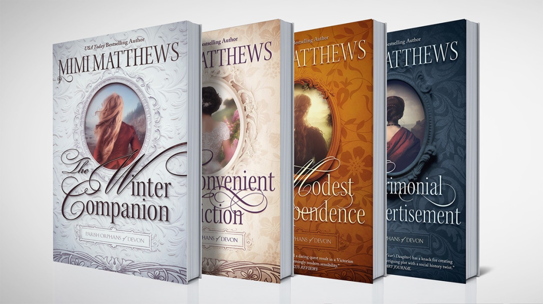 The Parish Orphans of Devon series by Mimi Matthews