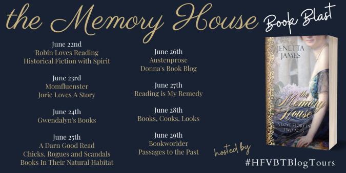 The Memory House Book Blast Banner 2020