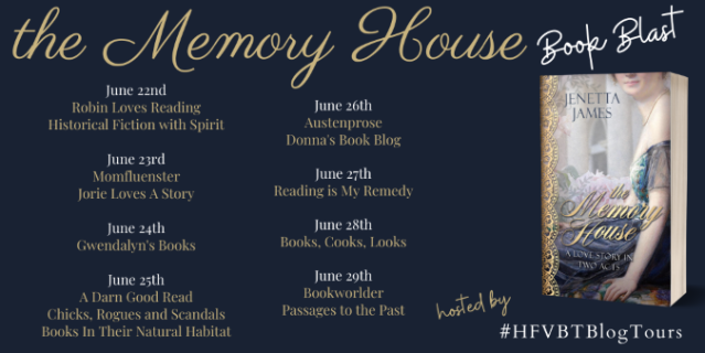 The Memory House Book Blast Banner 2020