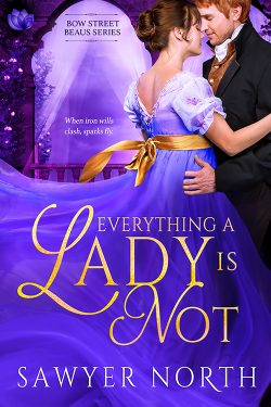 Everything A Lady Is Not, by Swyer North, 2020