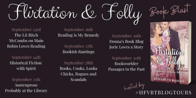 Flirtation and Folly Book Blast Banner