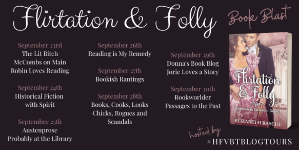 Flirtation and Folly Book Blast Banner