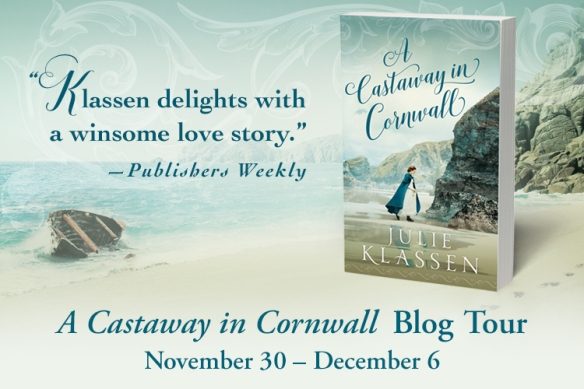 A Castaway in Cornwall Blog Tour Graphic