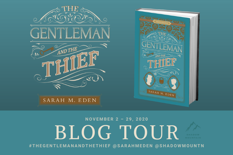 The Gentleman and the Thief Blog Tour Graphic