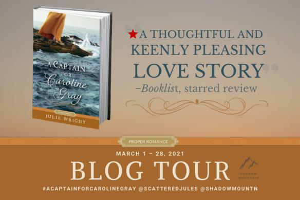 Captain for Caroline Gray Blog Tour Graphic