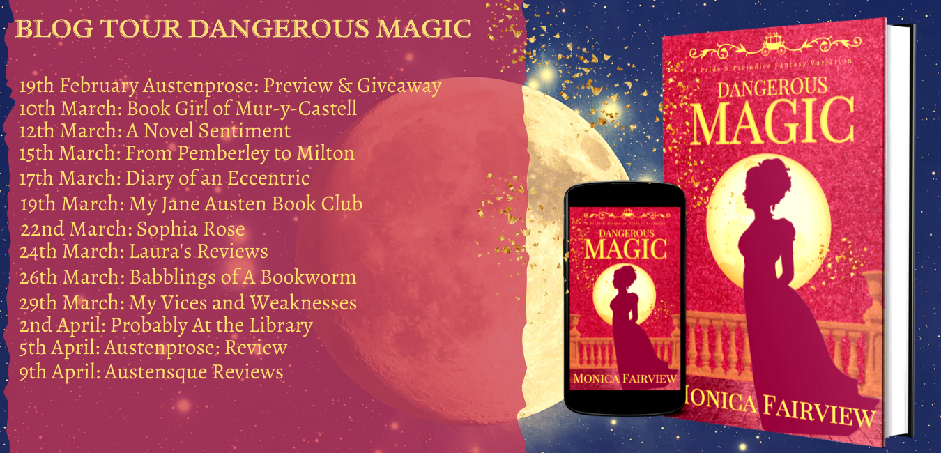 Dangerous Magic Blog Tour