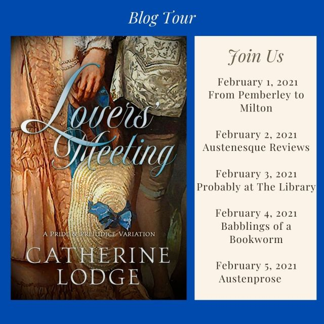 Lovers' Meeting Blog Tour Graphic