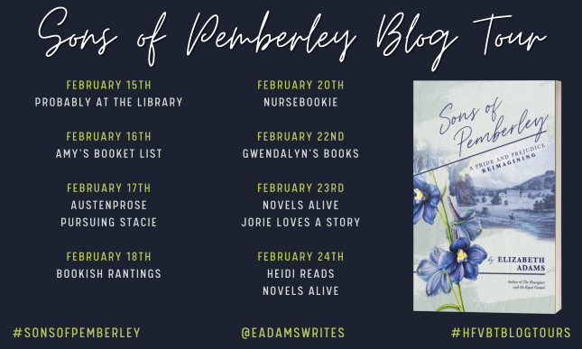Sons of Pemberley Blog Tour Banner