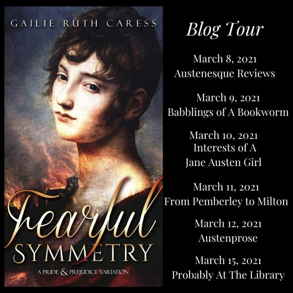 Fearful Symmetry Blog Tour graphic