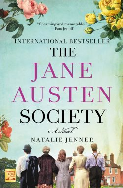 Cover of the paperback edition of The Jane Austen Society (2021)